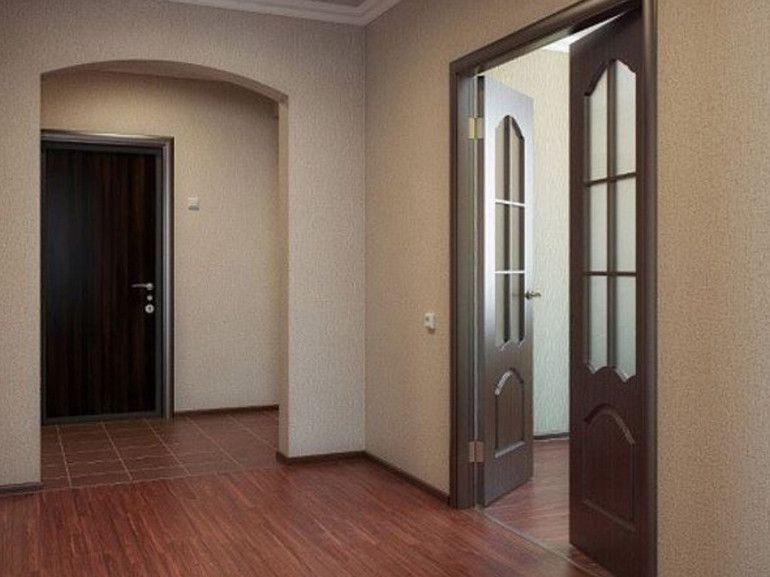 Ремонт квартиры-студии под ключ в Москве 35 фото